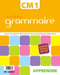 Lot Modulo Grammaire CM1 Classeur Excercices + Classeur Corriges
