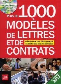 Plus de 1000 Modeles de Lettres et de Contrats