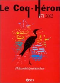 Le Coq-Héron, numéro 171, décembre 2002 : Philosophie - Psychanalyse