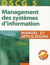 DSCG 5, Management des systèmes d'information : Manuel et applications