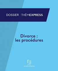 DIVORCE LES PROCEDURES