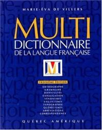 Multidictionnaire de la langue française