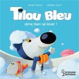 Tilou bleu se lave bien