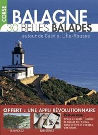 Corse-Balagne - 30 Belles balades autour de Calvi et l'Ile-Rousse