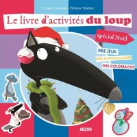 Le Livre d'Activites du Loup Special Noël