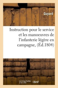Instruction pour le Service  ed 1804