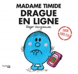 Mme timide drague en ligne