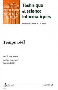 Revue des Sciences et Technologies de l'Information, Volume 22 N° 5/2003 : Temps réel
