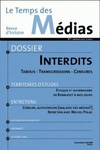 Revue d'histoire, numéro 1 : Le temps des médias