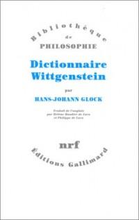 Dictionnaire Wittgenstein