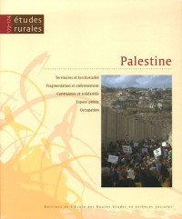 Etudes rurales, N° 173-174, Janvier- : Palestine