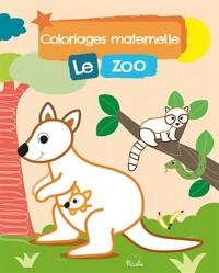 Coloriage Maternelle/le Zoo