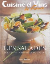 Les salades : 60 Recettes faciles au fil des saisons