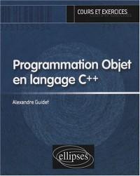 Programmation Objet en langage C++