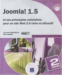 Joomla! 1.5 - Coffret de 2 livres : Joomla! 1.5 et ses principales extensions pour un site Web 2.0