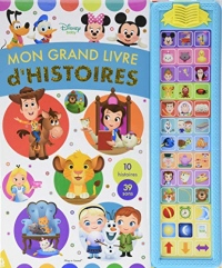 Mon grand livre d'histoires Disney Baby