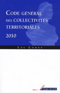 Code general des collectivites territoriales 2010