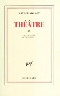 Theatre tome 4