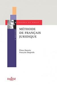 Méthode de français juridique - 2e éd.