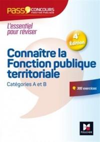 Pass Concours Connaître la Fonction publique territoriale - catégories A et B - Nº12 - 3e édition