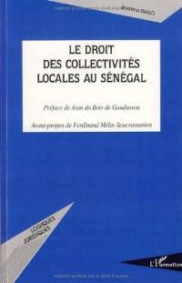 Le droit des collectivités locales au Sénégal