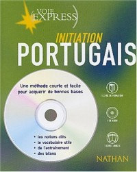 Portugais : Initiation (2 livres + 1 CD audio)