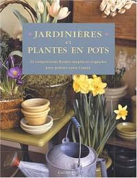 Jardinières et plantes en pot