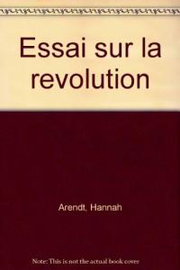 Essai sur la Révolution