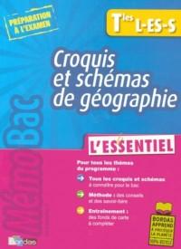 Croquis et schémas de géographie Tles L-ES-S : L'essentiel