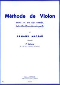 Méthode de violon vol.4