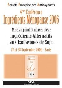 Ingrédients ménopause 2006