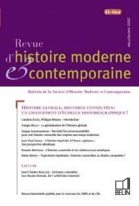 Revue d'histoire moderne et contemporaine, N° 54-4 bis :
