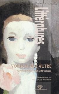 Littératures : Voi(es)x de l'autre : Poètes femmes, XIXe - XXIe siècles