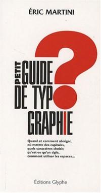 Petit guide de typographie