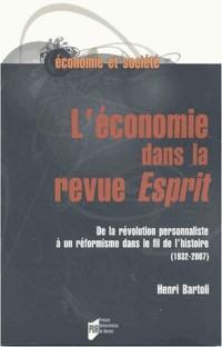 L'économie dans la revue Esprit