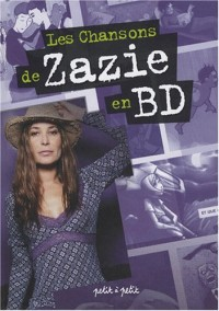 Les chansons de Zazie en BD