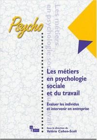 Métiers en psychologie sociale et du travail