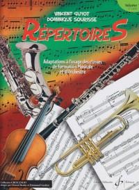 Repertoires Volume 1