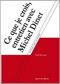 Michel Dinet Reenchanter la Democratie