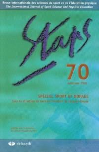 Staps numéro 70. : Spécial sport et dopage