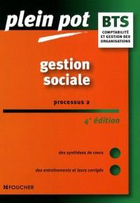 Gestion sociale : Processus 2, Comptabilité et gestion des organisations
