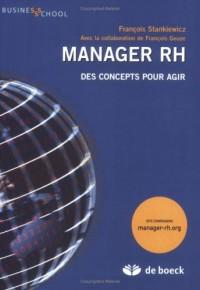 Manager RH: des concepts pour agir