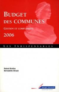 Budget des communes : Gestion et comptabilité