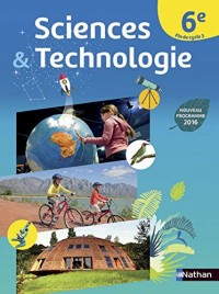 Sciences et Technologie 6e/Fin de cycle 3 - Nouveau programme 2016