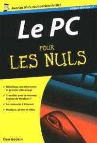 Le PC Edition Windows 7 pour les Nuls