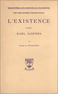 L'Existence d'après karl Jaspers