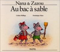 Nana & Zazou au bac à sable