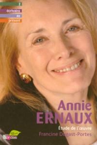 Annie Ernaux : Etude de l'oeuvre
