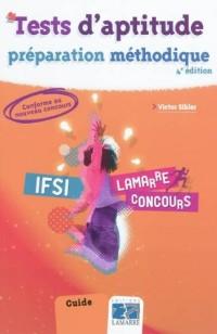 Tests d'aptitude : préparation méthodique IFSI