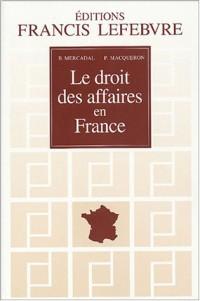 Le droit des affaires en France : Principes et approche pratique du droit des affaires et des activités économiques